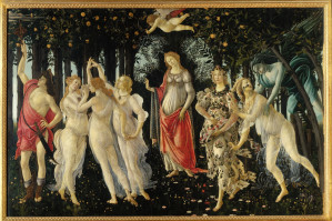 Botticelli, 《春天》,約繪於1482年。